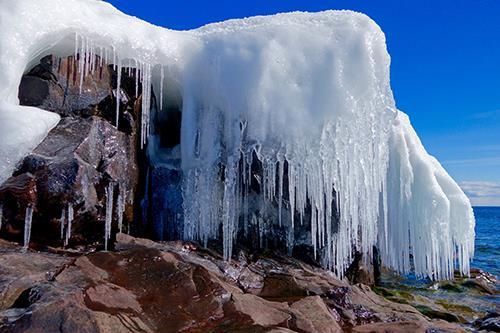 Glorious Ice by Sandra Updyke