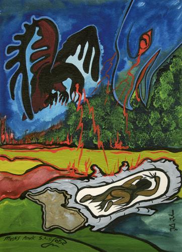 Birch #3 by Moses (Amik) Beaver Lake Superior Store
